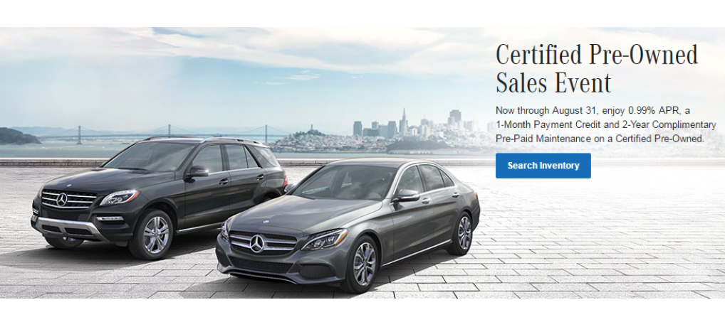 The mercedes life in wny living the good life for Mercedes benz certified pre owned sales event